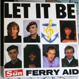 EP Let it be, støtteplade, udg. af The Sun, Ferry Aid
