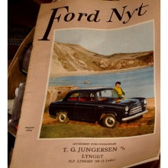 Ford nyt august 1954